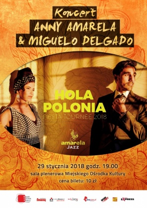 Koncert  Anny Amarela & Miguelo Delgado Kliknięcie w obrazek spowoduje wyświetlenie jego powiększenia